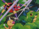 Caterpie Weedle String Shot.png