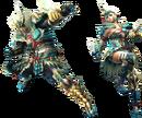 FrontierGen-Zinogre Armor (Gunner) (Both) Render 2.png