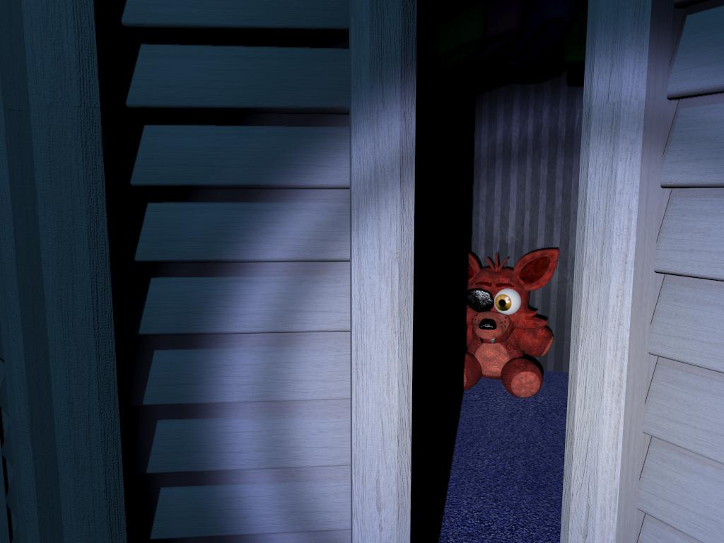 El peluche de Foxy - Five nights at Freddy