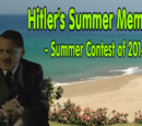 Hitler's Summer Memories (Contest)