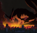 Nine-Tails' Attack on Konoha