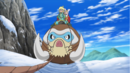 Clemont and Bonnie Mamoswine XY083.png