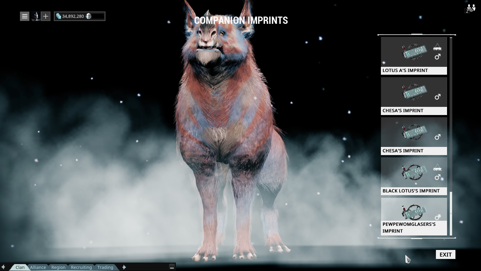 kubrow imprint prices kubrow kennel a dedicated market for kubrow