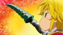 Meliodas considering to sell Lostvayne.png