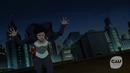 Mari McCabe perseguida por Flash y Arrow.png