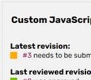 JavaScript review process