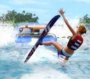 Jeżdżenie na nartach wodnych