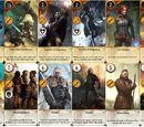 Ballad Heroes gwent card set