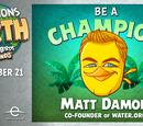Matt Damon Bird