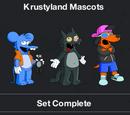 Krustyland Mascots