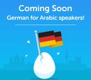 German for Arabic
