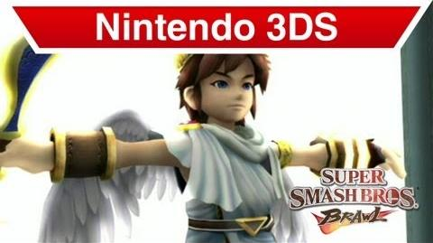 Nintendo 3DS - Kid Icarus Uprising; Pit in Super Smash Brothers Brawl