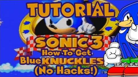 Cómo conseguir a Knuckles azul en Sonic 3 & Knuckles (Glitch)
