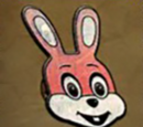 Robbie the Rabbit Pin