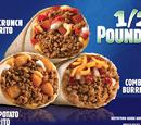 1/2-Pound Beef Combo Burrito