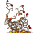 Fall Stag Statue