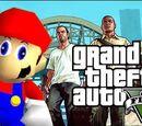 Grand Theft Mario - If Mario was in... GTA V
