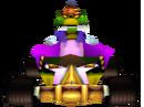 CTR Komodo Joe In-Kart (Front).png