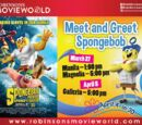 Robinsons Movieworld: Meet and Greet SpongeBob