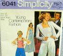 Simplicity 6041 A