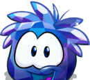 Puffle de Cristal Bleu
