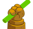 Inanimate Carbon Rod Monument
