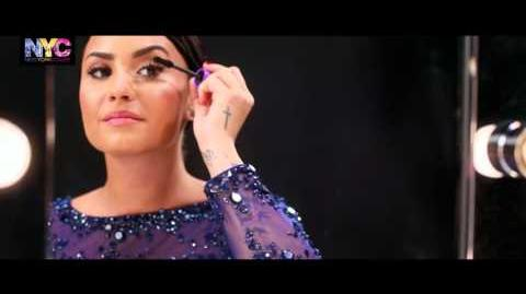Demi Lovato for N.Y.C NEW YORK COLOR - How to the Glamorous Look