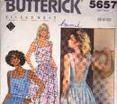 Butterick 5657 D