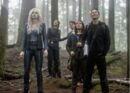 Killer Frost, Iris, Barry, Cisco y Harry en bosque (Escape from Earth-2 promo).jpg