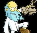 Reclusive Mr. Burns