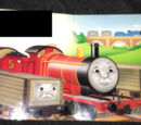 James the Red Engine (1999 board book)