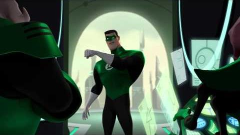 "Green Lantern The Animated Series ""Beware My Power"" (Clip 2)"