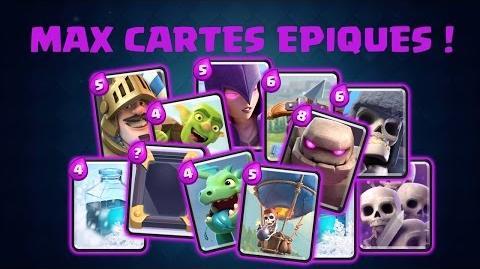 Avoir un max de cartes épiques ! Astuce Clash Royale Rayven - Papys Warriors