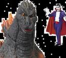 Godzilla vs Count Dracula