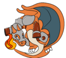 Burning Fire Charizard