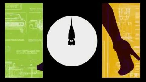 Archer - Title Sequence - Season 4