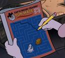 Cap'n Brain-Teasers' Fun Maze