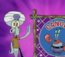Astrology with Squidward shorts