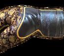 Gloves-Rusty Gold Skull