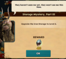 Storage Mystery, Part III