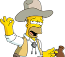 Old West Simpsons