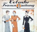 Vobachs Frauenzeitung No. 38 Vol. 36 1933