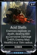 Acid Shells