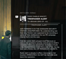 TRESPASSER ALERT (PR)