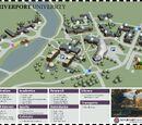 Riverport University Map