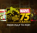 Marvel 75 Years: From Pulp to Pop/Release Dates