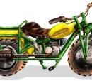 1969 Rokon Trail-Breaker Motorcycle