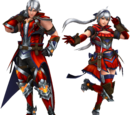 Frontier Generation Armor Set Renders 2 (Edited)