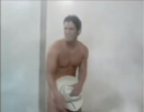 The Eastwood Insurance Cowboy at the end of the 1990s shower commercial.png