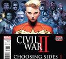 Civil War II: Choosing Sides Vol 1 1